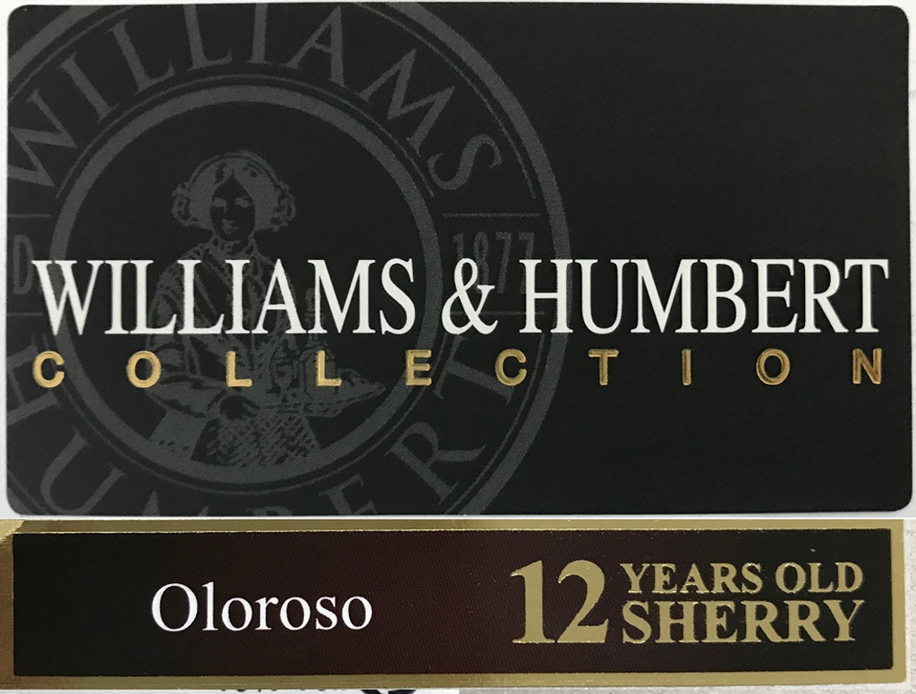 Williams & Humbert Collection 12 Year Old Oloroso Sherry 375ml