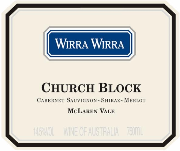 Wirra Wirra Church Block 2017 Cabernet Sauvignon-Shiraz-Merlot 375ml