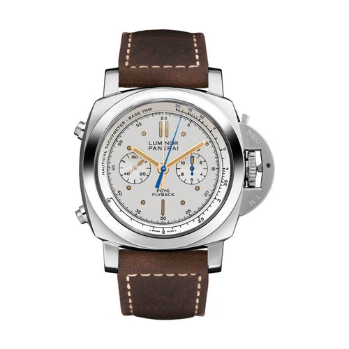 Panerai PAM00654 Luminor 1950 Ivory Flyback Chronograph Automatic Men's Chronograph Watch