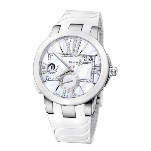 ULYSSE NARDIN 243-10/391 Executive Dual Time Automatic Ladies Watch