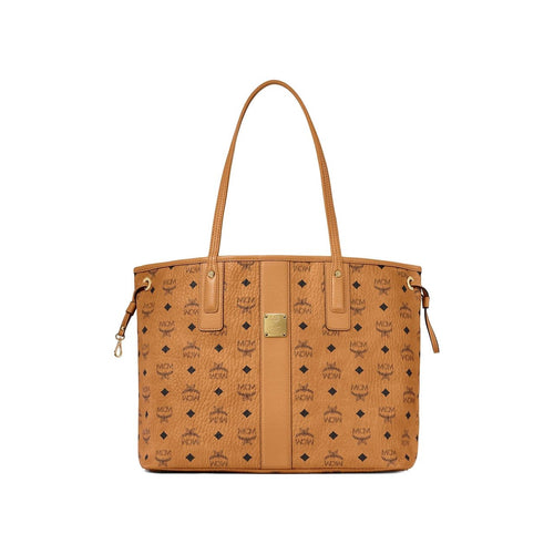 MCM Reversible Liz Shopper Cognac in Visetos Leather Bag MCM MWPAAVI02CO 8806195890714