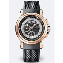 Load image into Gallery viewer, Breguet Marine Black Dial Rubber Automatic Men's Watch 5827BRZ25ZU