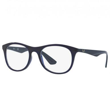 Ray-Ban RB7085-5584 Blue Square Men's Injected Eyeglasses