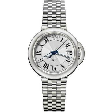 Bedat No. 8 Stainless Steel Silver Dial Automatic Unisex Watch 831.011.100