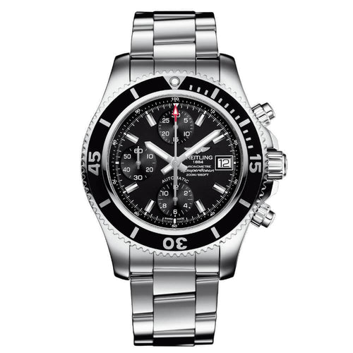 Breitling A13311C9 Superocean Chronograph Silvertone Automatic Men's Watch 0617566625198