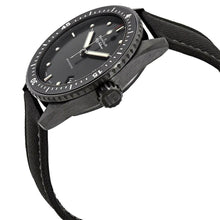 Load image into Gallery viewer, Blancpain 5000-0130-B52A Fifty Fathoms Bathyscaphe Men's Black Fabric Automatic Watch 7613297475982
