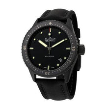 Load image into Gallery viewer, Blancpain 5000-0130-B52A Fifty Fathoms Bathyscaphe Men's Black Fabric Automatic Watch