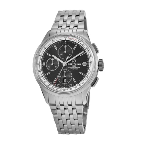 Breitling Premier Mens Chronograph 42 Stainless Steel Bracelet Automatic Watch A13315351B1A1 842047145432