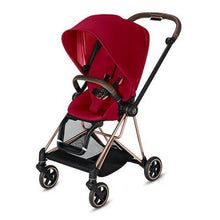 Load image into Gallery viewer, CYBEX MIOS 3-in-1 Travel System Rose Gold with Brown Details Baby Stroller – True Red 519003375 4058511701707