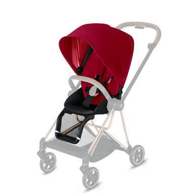 CYBEX Mios 3-in-1 Travel System Seat Pack – True Red