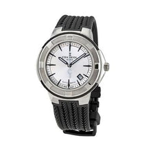 Load image into Gallery viewer, Charriol CE443AB173003 Celtica Silver Dial Men's Black Rubber Automatic Watch