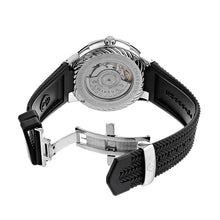 Load image into Gallery viewer, Charriol CE443AB173003 Celtica Silver Dial Men's Black Rubber Automatic Watch 818210307402