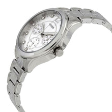 Load image into Gallery viewer, Citizen ED8140-57A Silver Stainless Steel White Dial Women's Multi-Function Watch