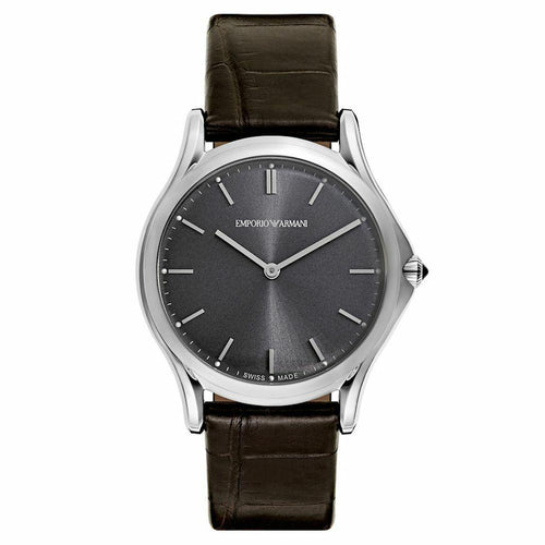 Emporio Armani ARS2000 Swiss Made Classic Men's Watch Front 723763203081