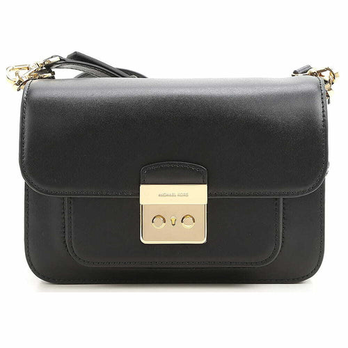 Michael Kors Sloan Editor Large Shoulder Bag - Black 191262177194