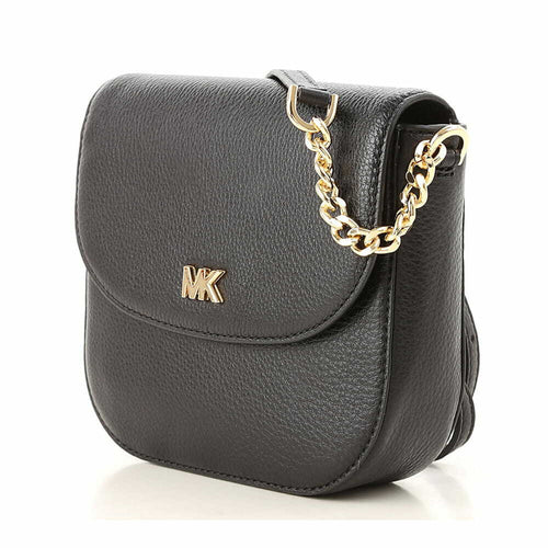 Michael Kors Mott Series Half Dome Ladies Crossbody Bag - Black 191935691279