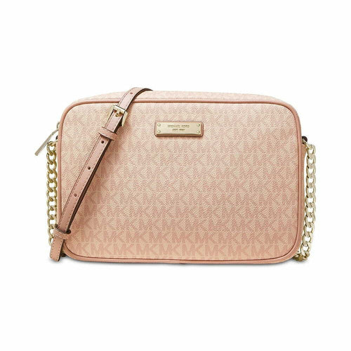 Michael Kors Women's Jet Set East West Large Crossbody Bag - Ballet 192877526179