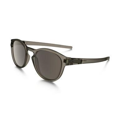 Oakley OO9265-03 Latch Matte Sepia Round Warm Grey Lens Men's Sunglasses