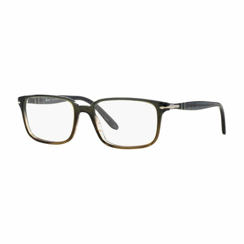 Persol PO3013V-1012 Dark Grey Rectangular Men's Plastic Eyeglasses 8053672420241