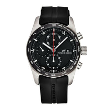 Load image into Gallery viewer, Porsche Design 6010.1090.01052 Chronotimer Series 1 Black Rubber Chronograph Automatic Watch