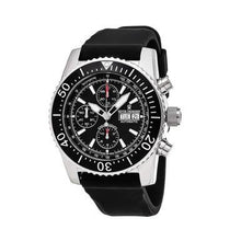 Load image into Gallery viewer, Revue Thommen 17030.6534 Airspeed Black Dial Black Rubber Chronograph Watch