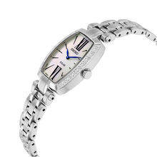 Load image into Gallery viewer, Seiko SUP283 Tressia Solar Mother of Pearl Dial Diamond Accent Women's Watch 029665182173