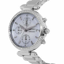 Load image into Gallery viewer, Seiko SNDV39 Crystal Accent Mother of Pearl Dial Women's Chronograph Watch 4954628225252