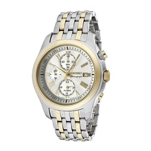 Load image into Gallery viewer, Seiko SNAE32 Classic Two Tone Stainless Steel Silver Dial Men's Chronograph Watch 4954628127679