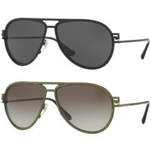 Load image into Gallery viewer, Versace VE2171B Women's Fashion Aviator Sunglasses