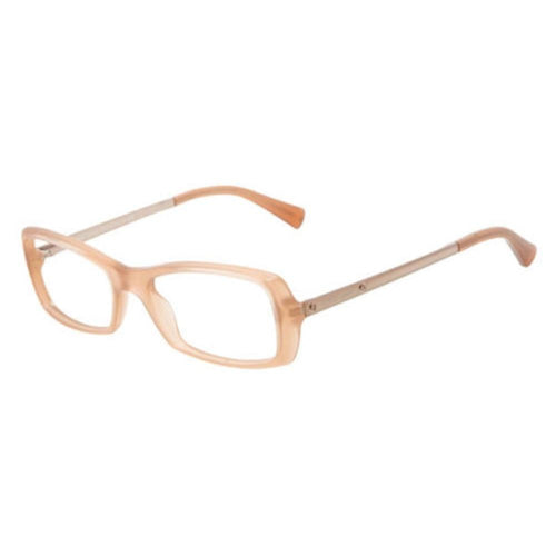 Giorgio Armani AR7011 5043 Opal Peach Recatngular Eyeglasses Frames for Women 8053672032888