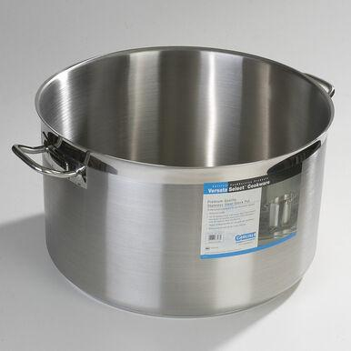 Carlisle Versata Select Commercial Grade 18-10 Heavy Duty 60 qt Stainless Steel Kitchen Stock Pot