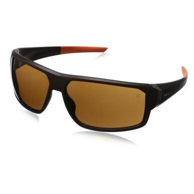 TAG Heuer TH9223-202 Racer 2 Brown Orange Wraparound Sunglasses