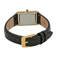 Load image into Gallery viewer, Seiko SXGN42 Gold-Tone with Black Leather Strap Women's Dress Watch 0029665143655