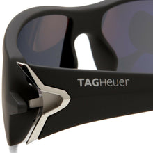 Load image into Gallery viewer, TAG Heuer TH9205-103 Racer Sand Polished Grey Wraparound Grey Outdoor Lens Sunglasses 669205103651603