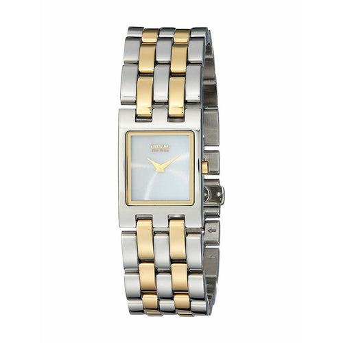 Citizen EX1304-51A Eco Drive Jolie Two Tone Stainless Steel Rectangular Women's Watch 013205102035