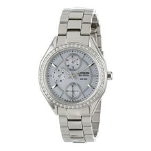 Load image into Gallery viewer, Citizen FD1060-55A Eco Drive POV 2.0 Stainless Steel Swarovski Crystal Accent Women's Watch
