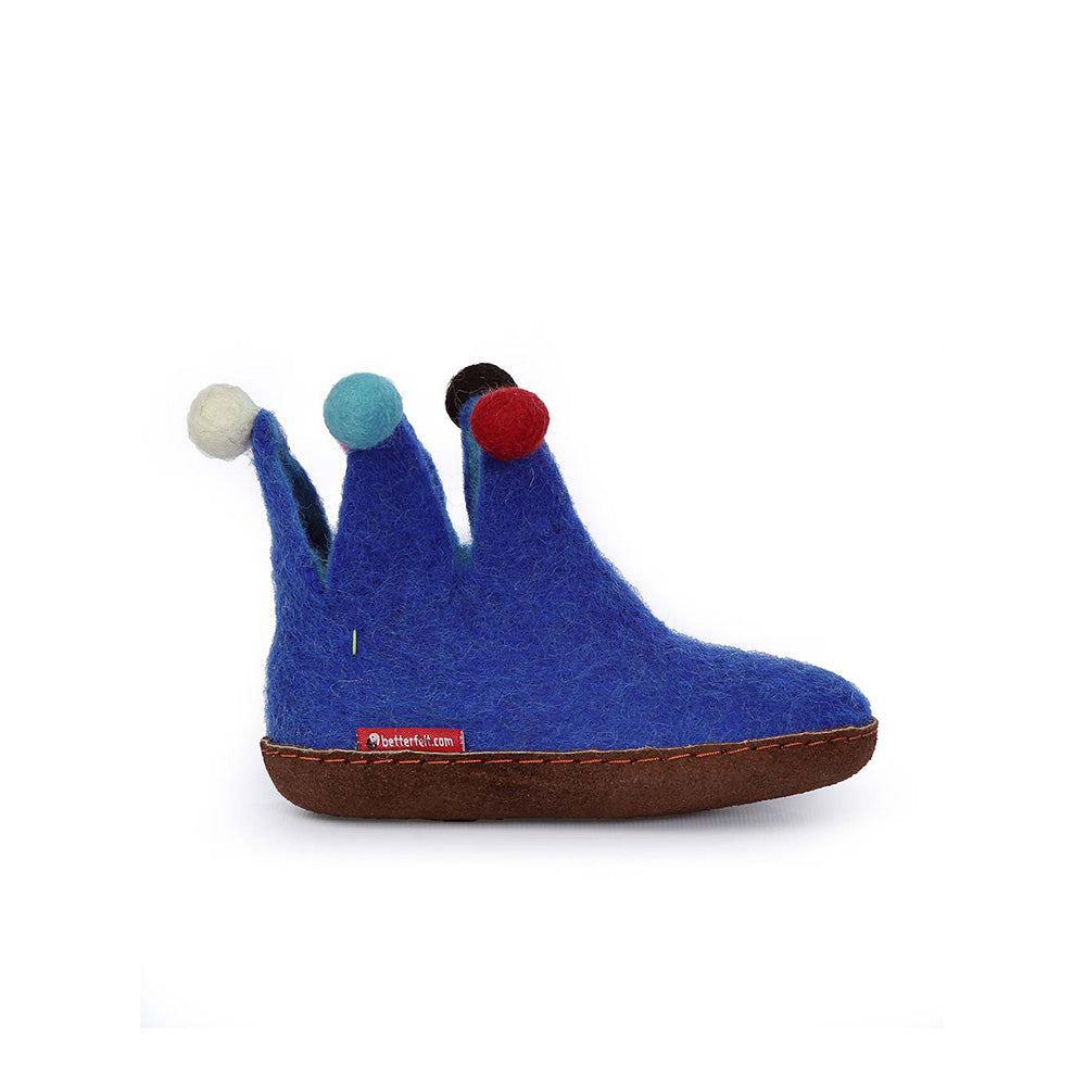 The Jester for Kids - Blue with Leather