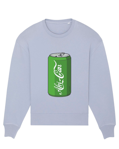 """Afri-Can"" (Soda) Sweatshirt - Sky Blue - L"