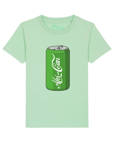 """Afri-Can"" (Soda) T-Shirt - Pale Green - XL"