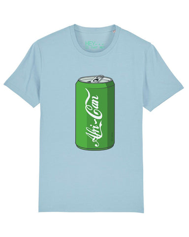 """Afri-Can"" (Soda) T-Shirt - Sky Blue - XL"