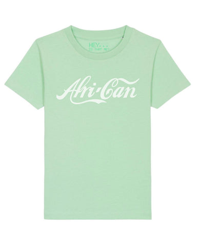 """Afri-Can"" T-Shirt - Light Green - XL"
