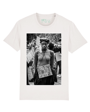 """Black Minds Matter"" Organic Cotton T-Shirt"