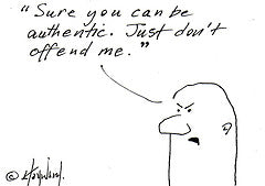 A Cautious Authenticity