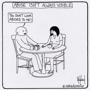 Abuse Isn't Always Visible