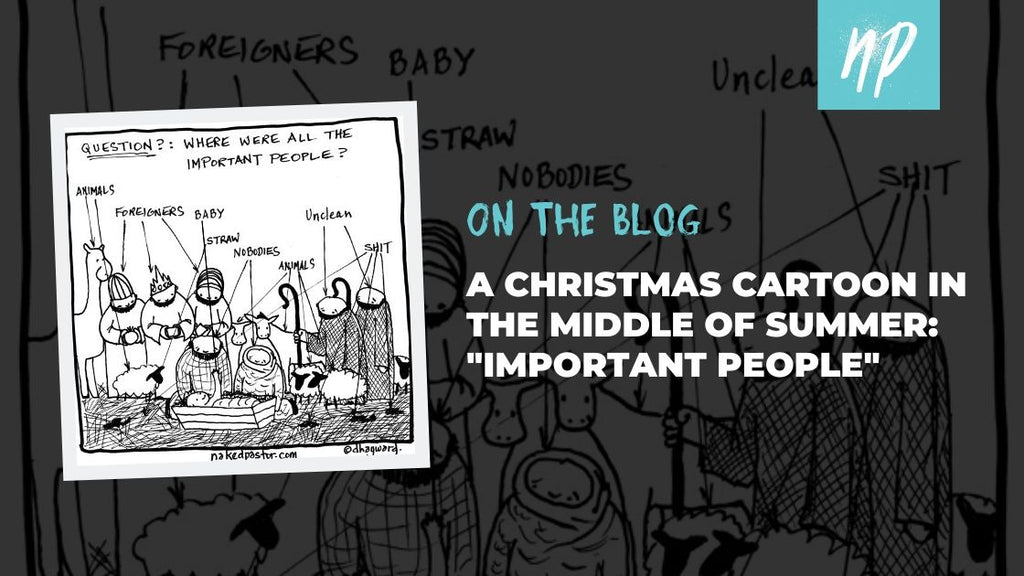 "A Christmas Cartoon in the Middle of Summer: ""Important People"""