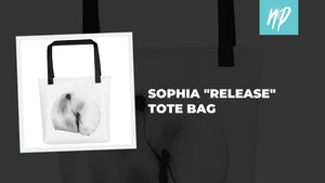 "Sophia ""Release"" Tote Bag and the Story Behind the Drawing"