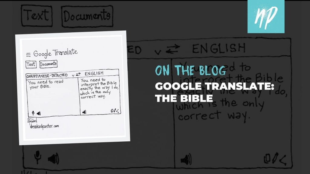 Google Translate: The Bible