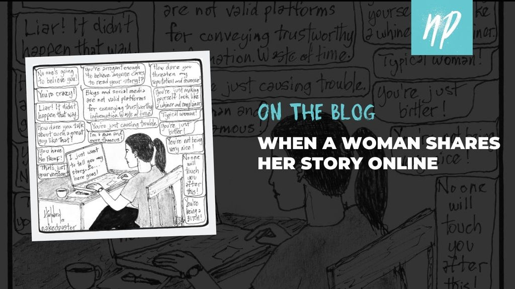 When a Woman Shares Her Story Online