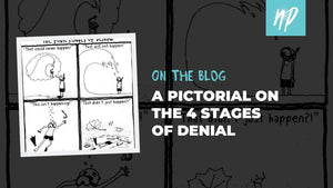 A Pictorial on the 4 Stages of Denial