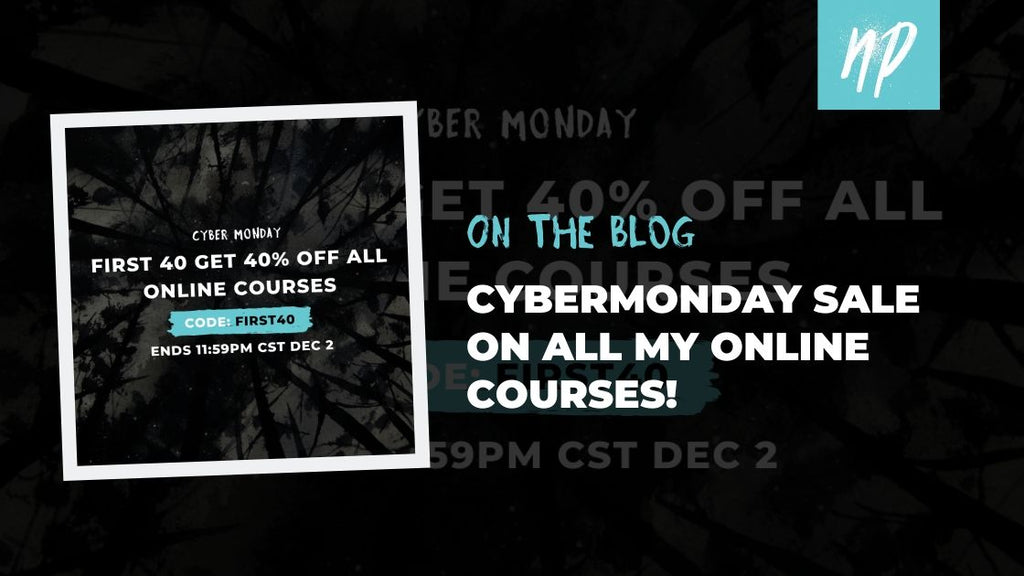 CyberMonday 40% OFF all my Online Courses!